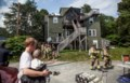 Pet removed from apartment during Dartmouth fire