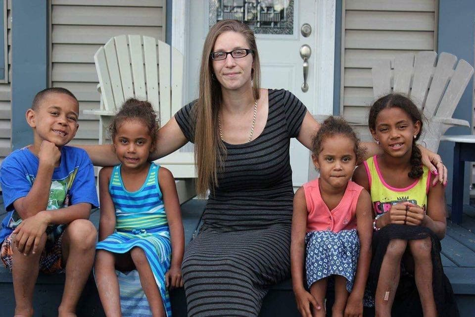 Jessica Nolet is determined to get off social assistance and provide a better life for her four children. (Contributed)