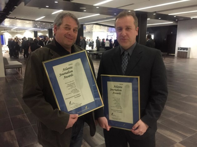 Local Xpress journalists take gold in two categories at Atlantic Journalism Awards