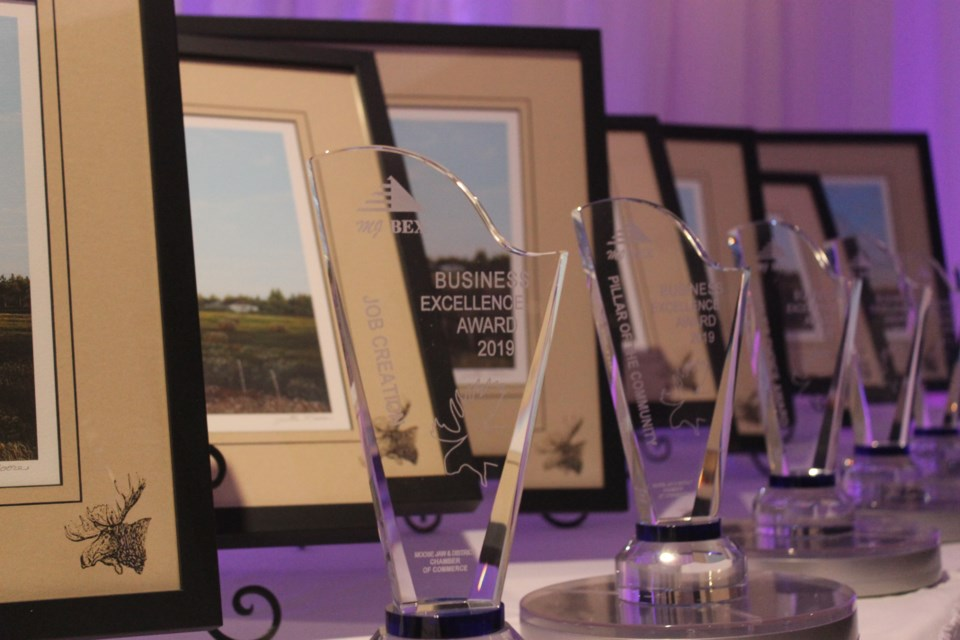 The annual awards are given to the best of local businesses.