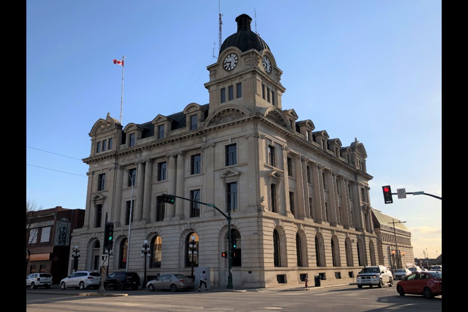 City hall is located at the corner of Main Street and Fairford Street. Photo by Jason G. Antonio