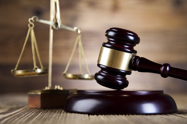 court gavel and justice scale