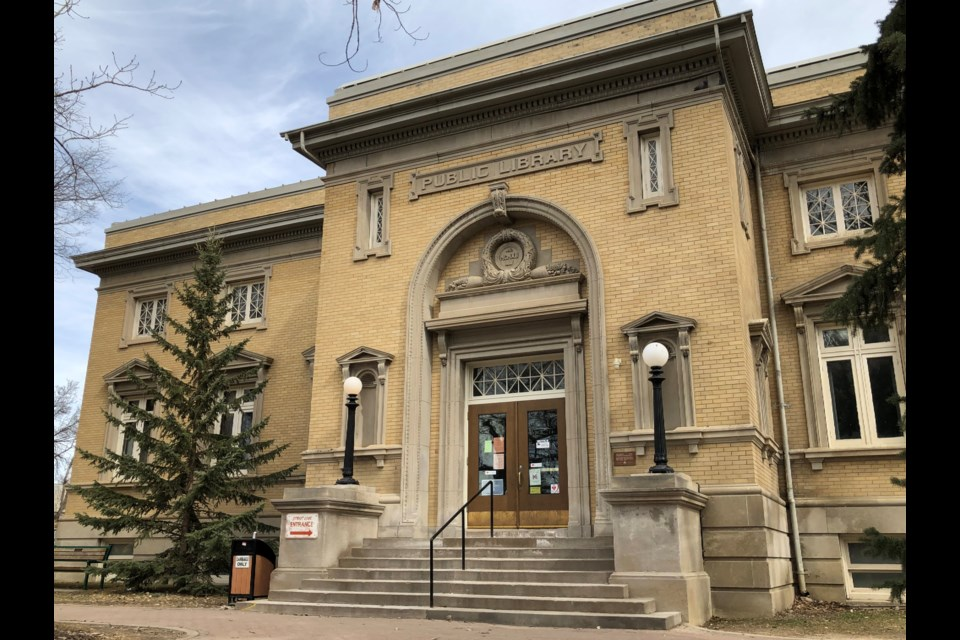 The Moose Jaw Public Library. Photo by Jason G. Antonio