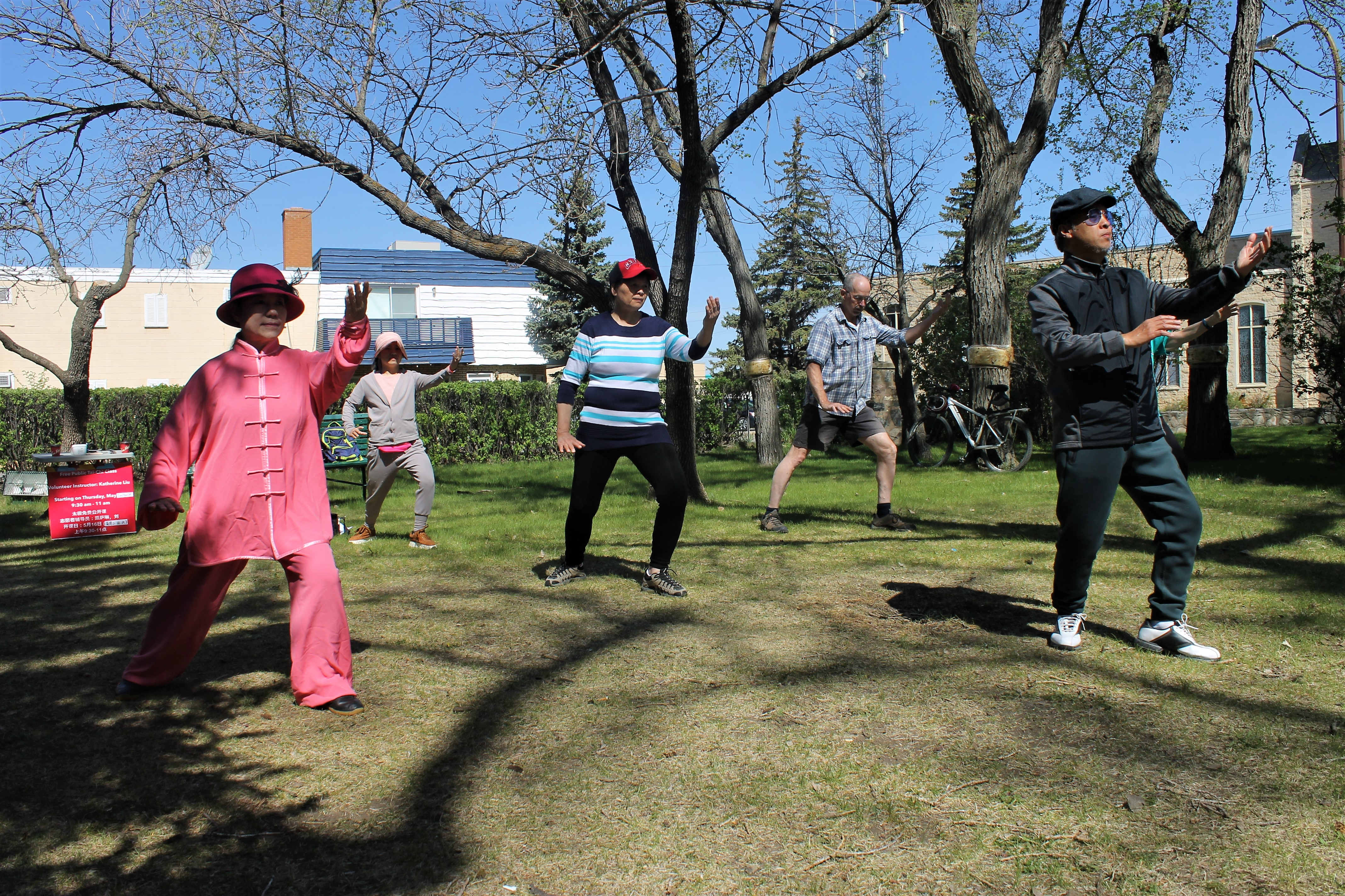 Morning tai chi in the park meant for everyone - MooseJawToday com