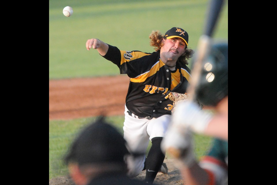 Jeff Nicolosi held Regina to only two runs through six innings in taking the Game 2 win.