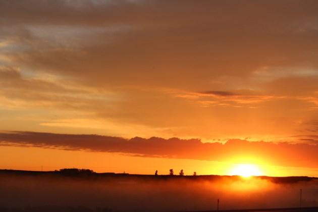 morning sunrise near mj