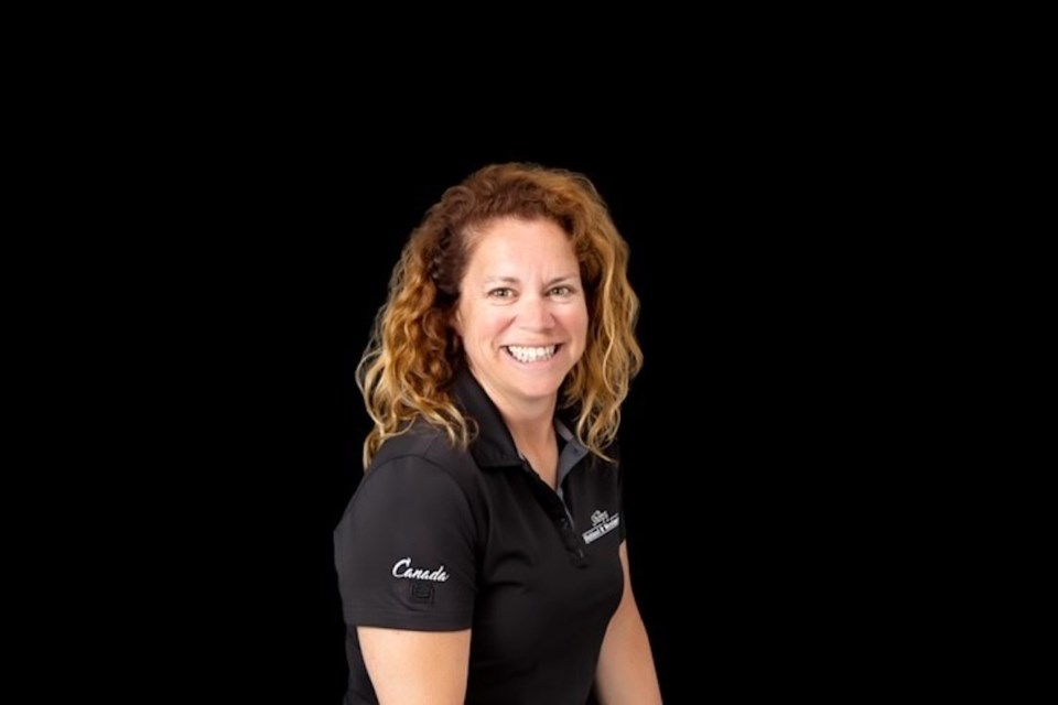 Debbie Peever annually play in the tournament to support the Alzheimer Society. Supplied photo/Debbie Peever
