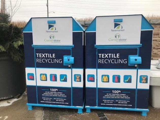 20181227 Town textile recycling bins