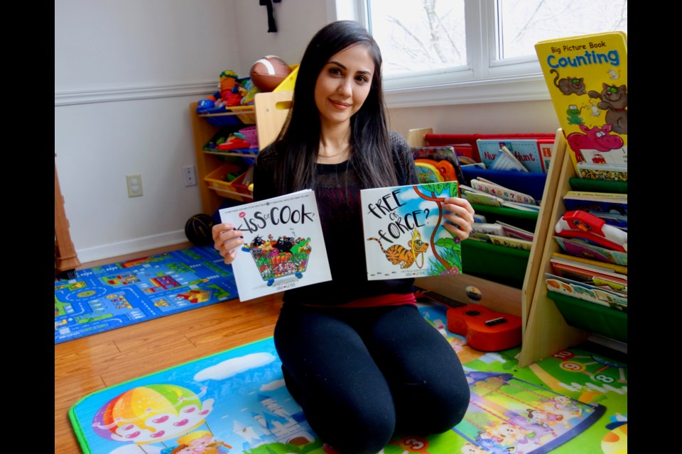 LuLu Lotus has written and illustrated three storybooks in a series called Choose Kindness. Debora Kelly/NewmarketToday