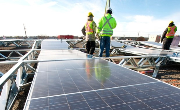 Aecon solar project