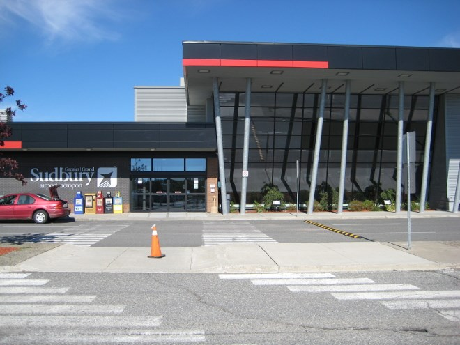 Greater Sudbury Airport terminal