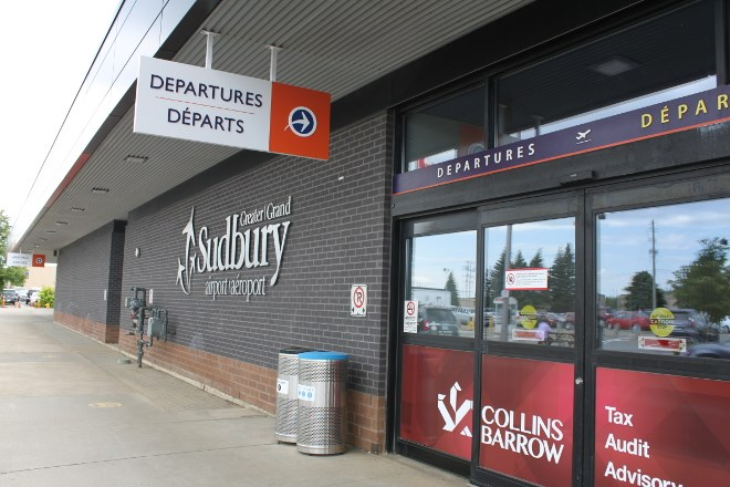 The secure area at the departures lounge at the Greater Sudbury Airport now has an expanded, updated business lounge to accommodate travellers looking to do business while waiting to take off.