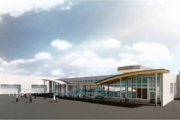 New airport terminal opens door for expansion