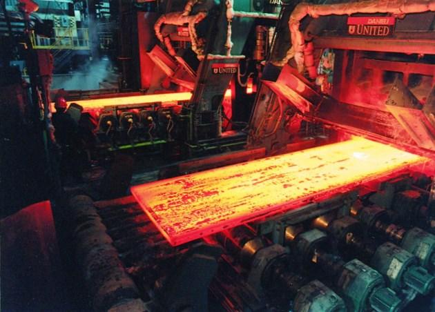 Algoma Steel Platemaking