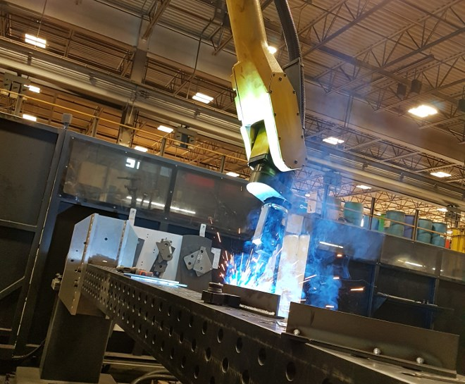 Timmins company Autonomous Welding Inc. specializes in designing and implementing robotic welding systems for clients in the military, mining and forestry industries.
