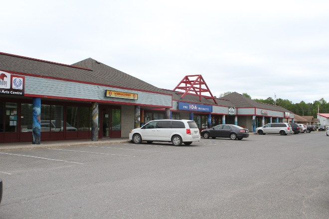 Big Wind mall in Wikwemikong First Nation