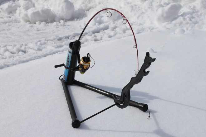 The Trigger hook setting device has been in short supply on the shelves of Sault Ste. Marie sporting goods stores.
