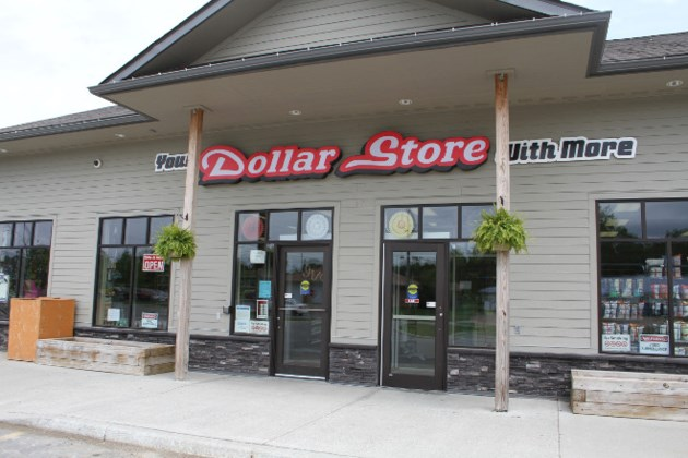 dollar store front
