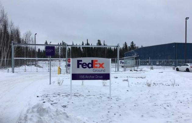 FedEx Kirkland Lake (Dancor Construction photo)