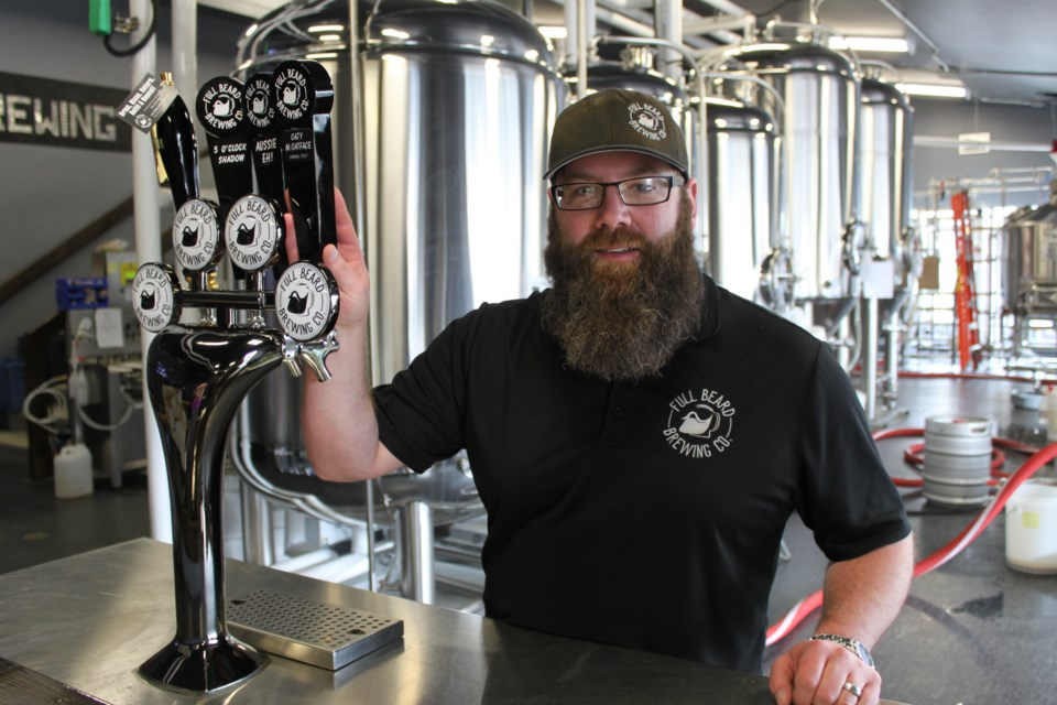 Jonathan St-Pierre launched Full Beard Brewing in January to rave reviews. The company is brewing nine beers available in cans, growlers, kegs, and on tap at local bars and restaurants.