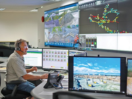 Goldcorp teleremote centre T-Bay