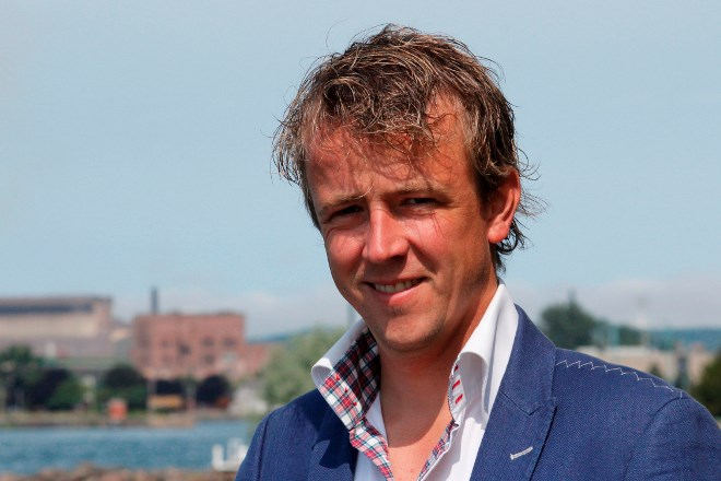 Riversedge Developments CEO Justus Veldman.