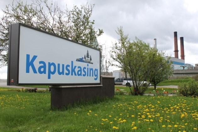 Kapuskasing welcome sign