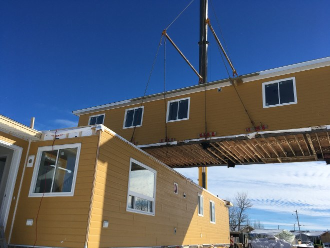 First Nation-owned Tundra Construction employed 50 Kashechewan residents to assemble and fit out 52 modular homes, replacing those damaged in a 2014 flood.