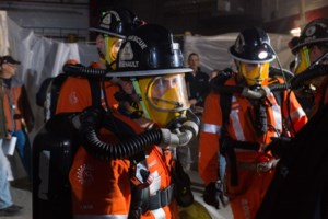 Mine rescue teams compete in Goderich