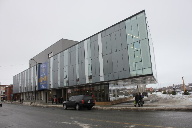 Laurentian University's School of Architecture, downtown Sudbury.