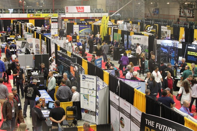 Thousands of people attended the annual Canadian Mining Expo in Timmins May 30 to June 1. Held at the McIntyre Arena, the exhibition features 400 booths, an investors' forum, and technical sessions.
