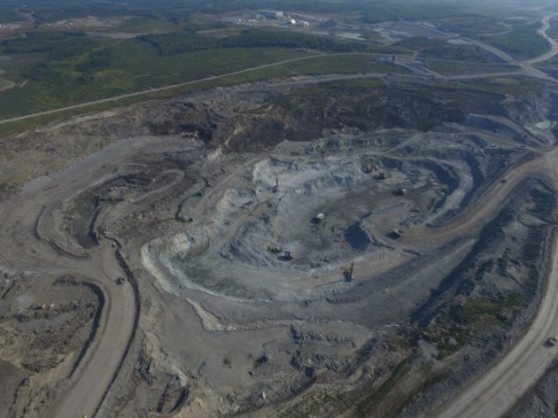 New Gold Rainy River open pit