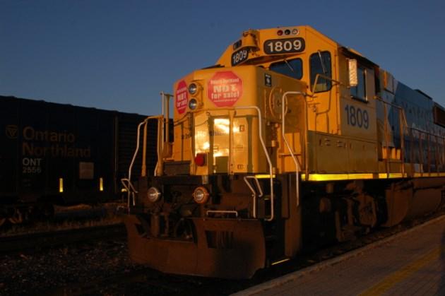Northlander locomotive
