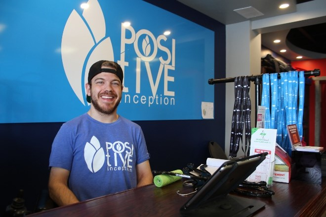 Ryan Benoit, founder and CEO of Positive Inception clothing and accessory line, says his goal has always been to show people they can do anything if they put their mind to it.