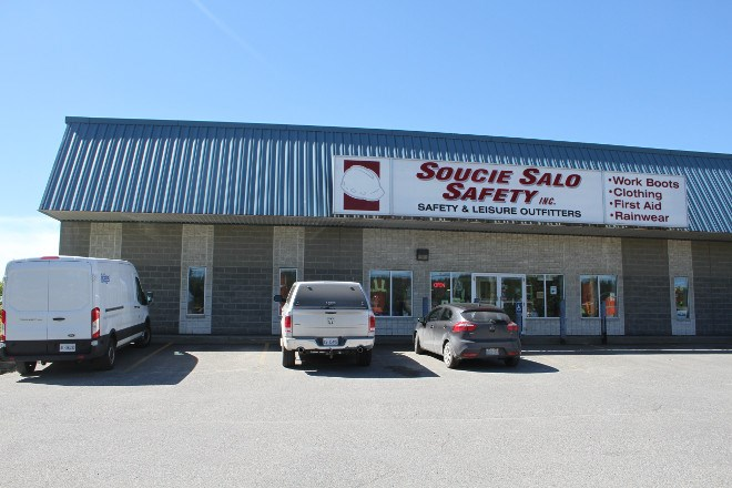 Soucie Salo Safety Inc., a safety clothing and equipment supplier with locations in Sudbury and Timmins, has partnered with Source Atlantic, a supplier of maintenance, repair and operations products and services. Owner Pat Heaphy says this is to secure the future of the company and have access to national supply chains.  Karen McKinley photo
