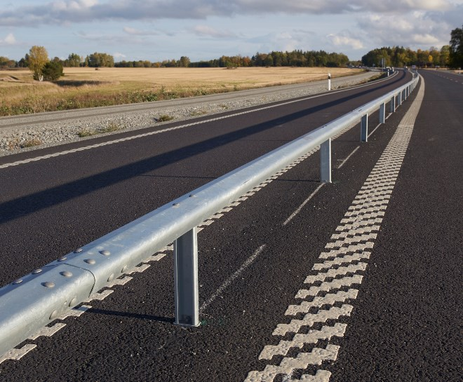 Sweden's 2 +1 highways and expressways have curbed road fatalities by 75 per cent over 20 years. (Supplied photo)