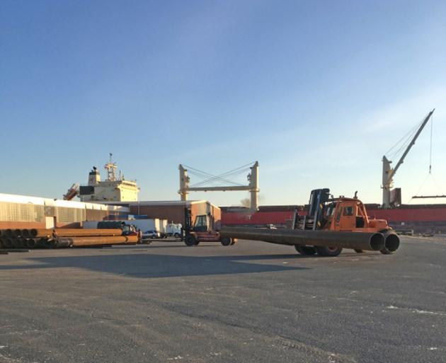 T-Bay port cargo