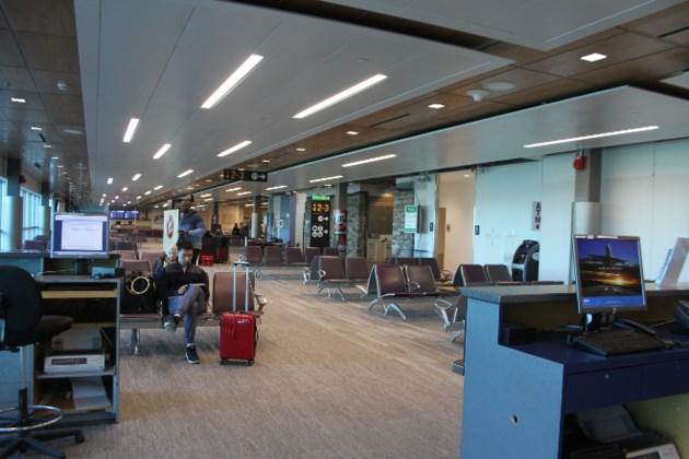 Thunder Bay departure lounge