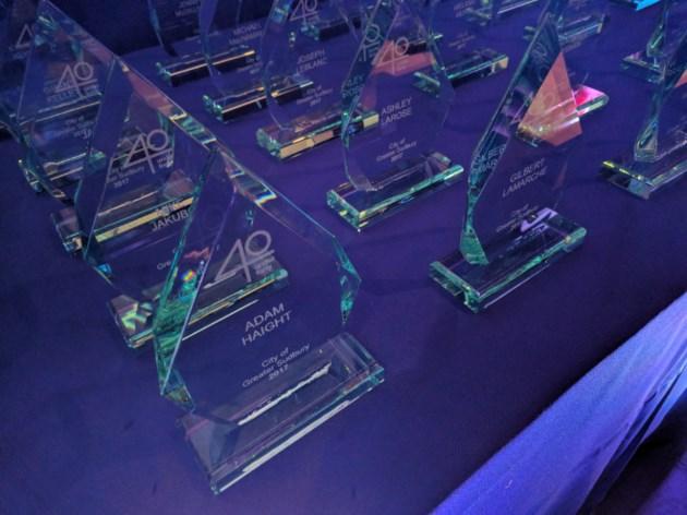 Top 40-40 award