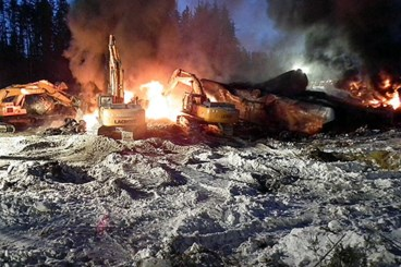 Track maintenance issues, speed caused 2015 Gogama derailment