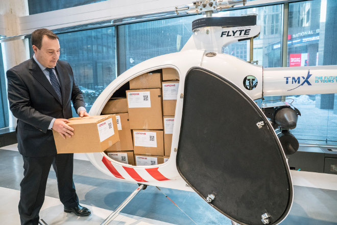 CANADA: This Canadian-made drone can carry 400 pounds and travel 200 km