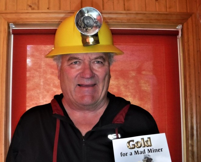 Gold for a Mad Miner, published by Bill Glover, includes 18 stories that detail the history of the Town of Kirkland Lake. (Supplied photo)