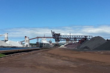 Shipping volumes up at Port of Algoma