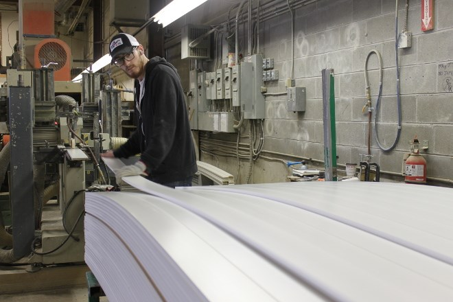 Sault company Fibrestick Manufacturing was purchased by Weston Wood Solutions in June. The company produces moulding, doorjambs and other products out of medium-density fibreboard (MDF) for the residential and commercial construction industry. (File photo)