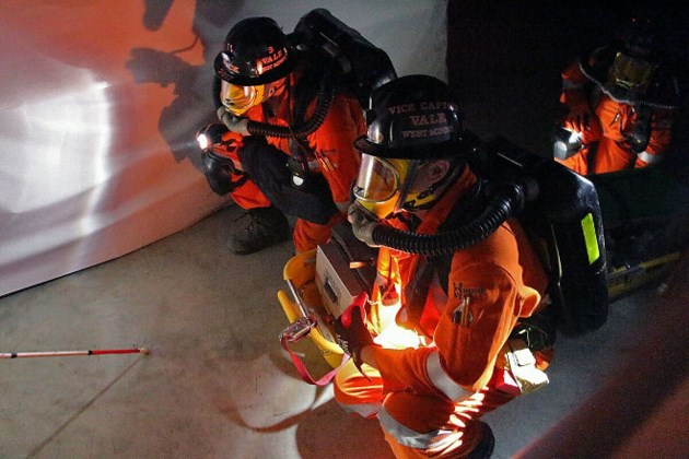 Vale mine rescue team