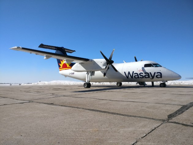 Wasaya Dash 8