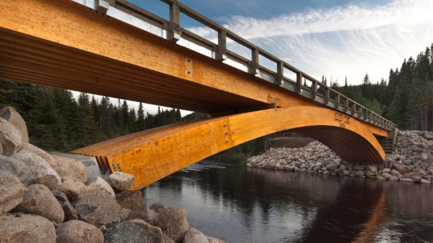 Wood bridge 2