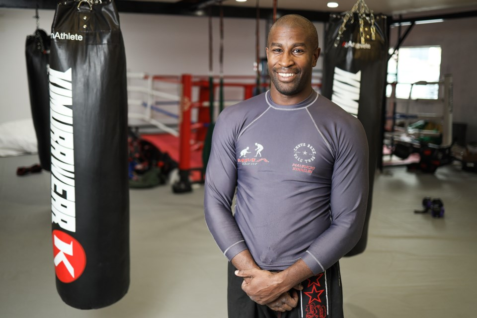 Elliot Duff is the founder of Formation Martial Arts, a new dojo in Turner Valley offering martial arts training, yoga, boxing, fitness classes with a focus on family. (BRENT CALVER/Western Wheel)