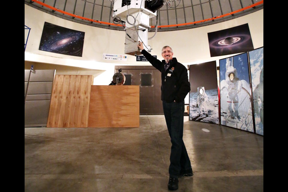Dr. Phil Langill, of the Rothney Astrophysical Observatory, chose his career in part due to the Apollo 11 mission.