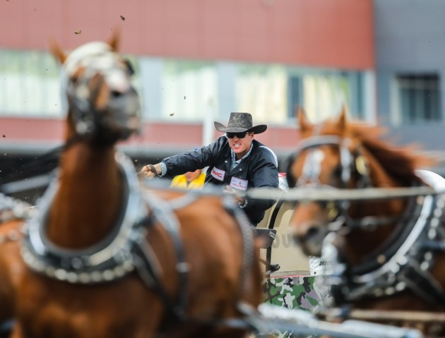 Blackie Chuckwagon Driver Helped By Bigger Family